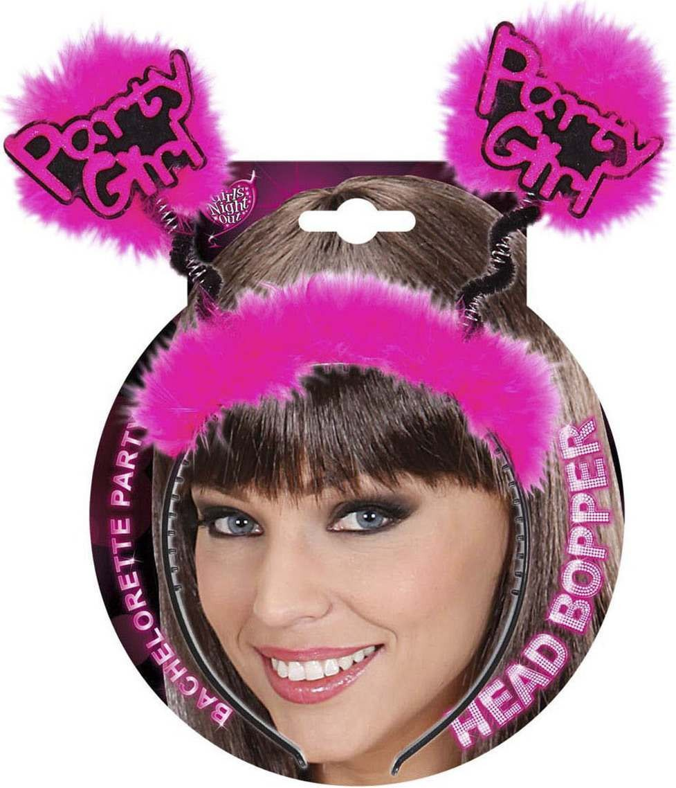 Party Girl Head Boppers Accessories