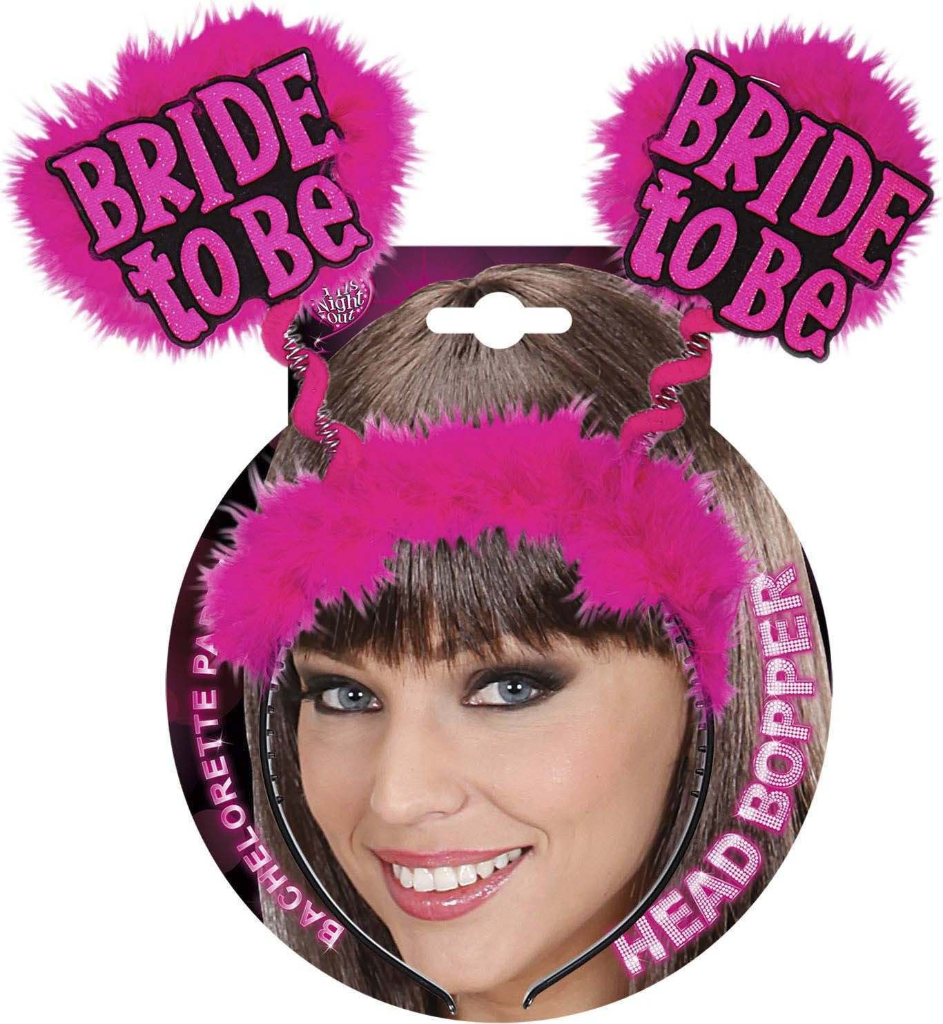 Bride To Be Head Boppers - Black Accessories