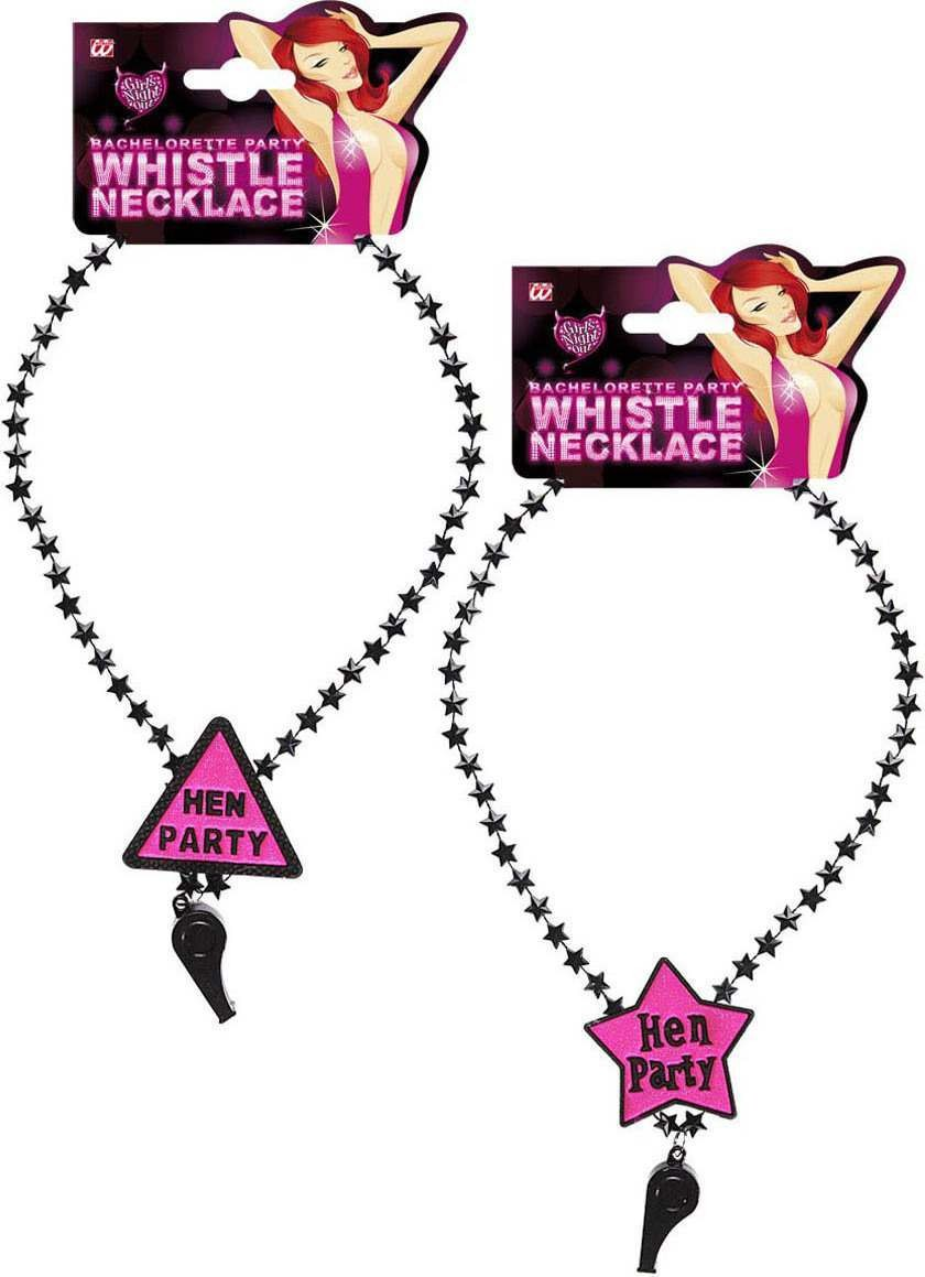 Hen Party Whistle Necklace - 2 Styles Jewellery