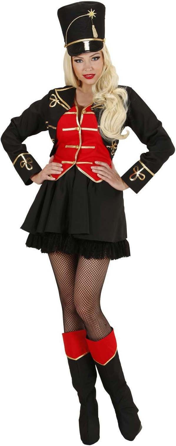 Ladies Tamer Girl- (Jacket W/Vest Skirt Boot Covers Hat Whip) Circus -