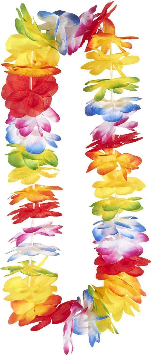 Deluxe Multicolor Hawaiian Leis Accessories
