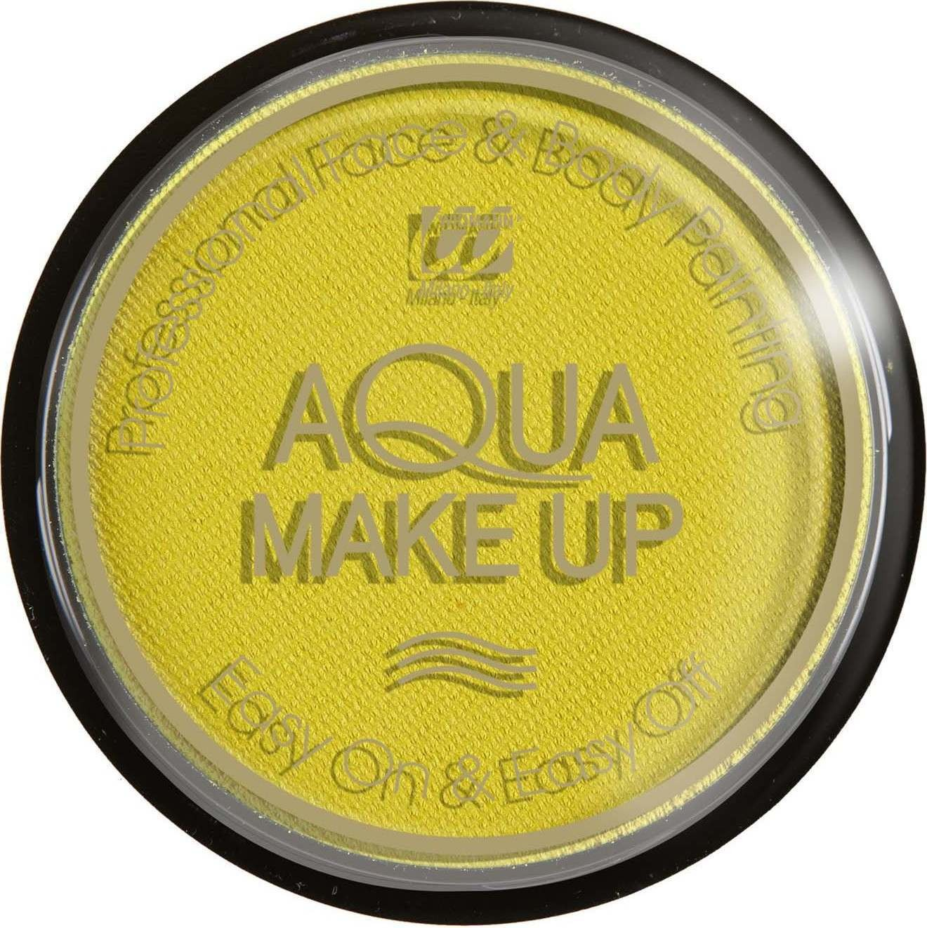 Aqua Makeup 15G - Pastel Yellow Makeup - (Yellow)