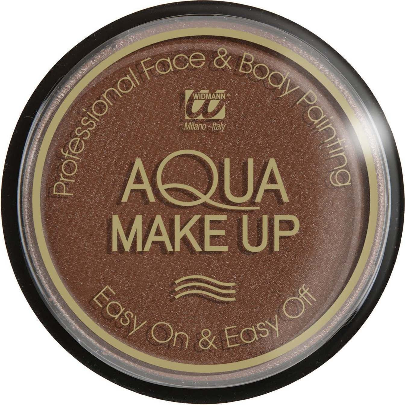 Aqua Makeup 30G - Brown Makeup - (Brown)