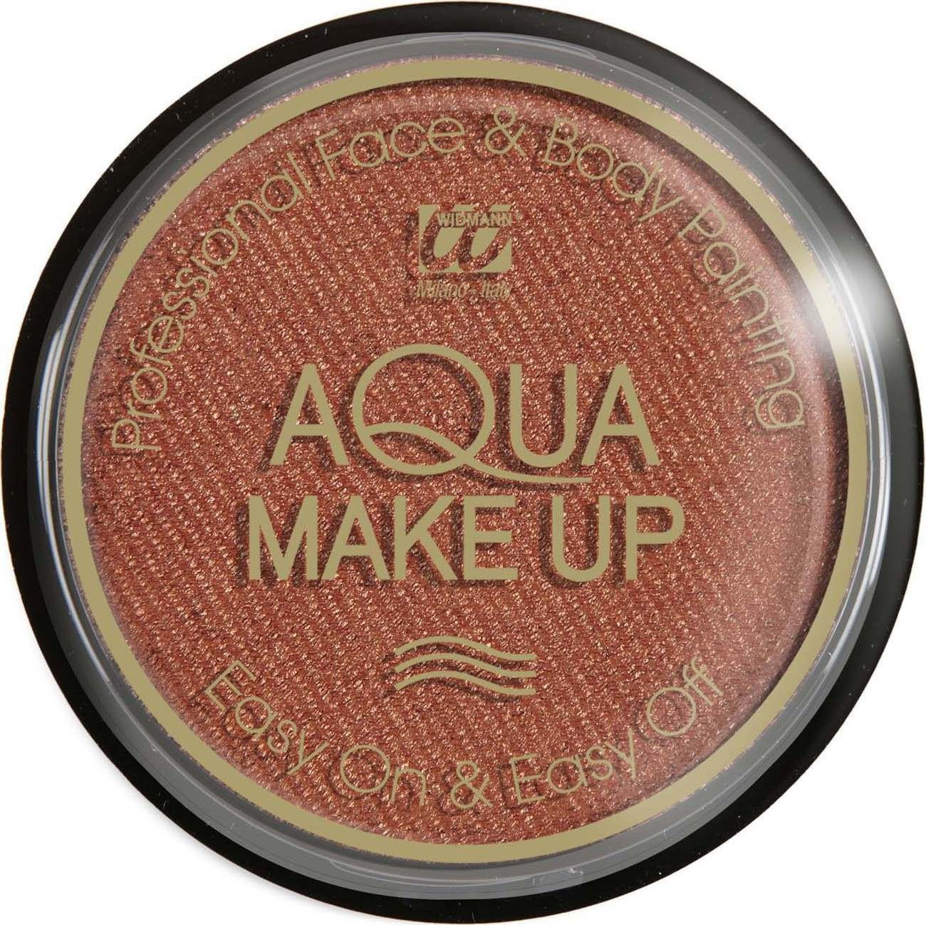 Aqua Makeup 15G - Metallic Bronze Makeup - (Bronze)