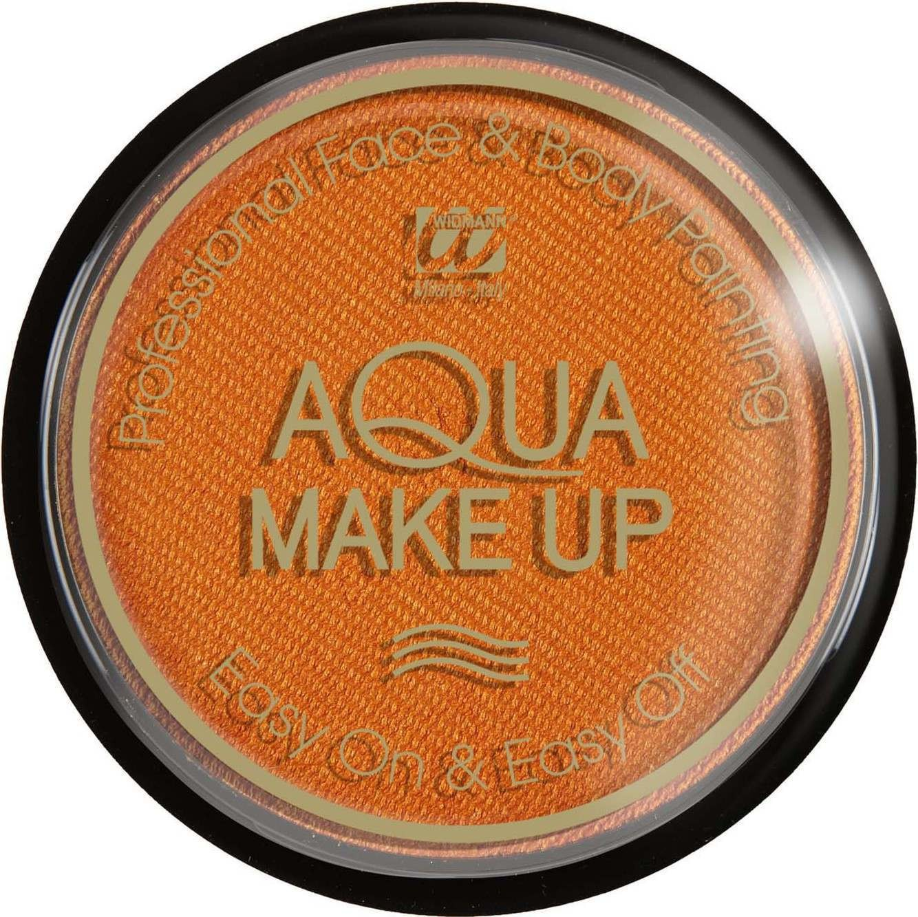 Aqua Makeup 15G - Metallic Orange Makeup - (Orange)
