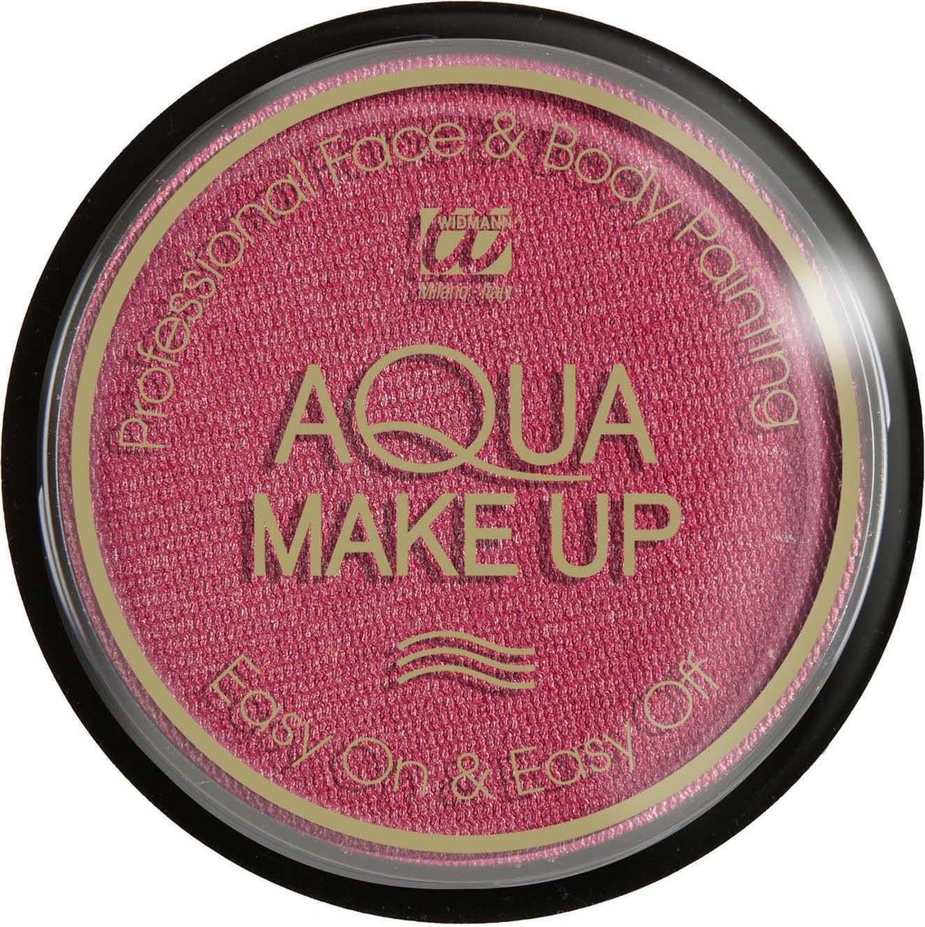 Aqua Makeup 15G - Metallic Pink Makeup - (Pink)