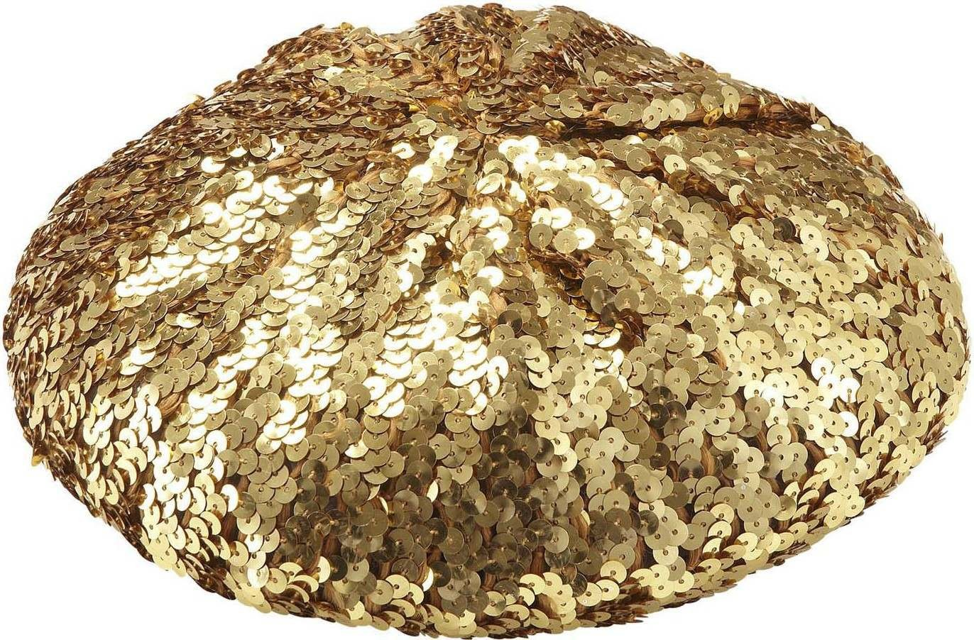 Sequin Basco Hat - Gold Hats - (Gold)