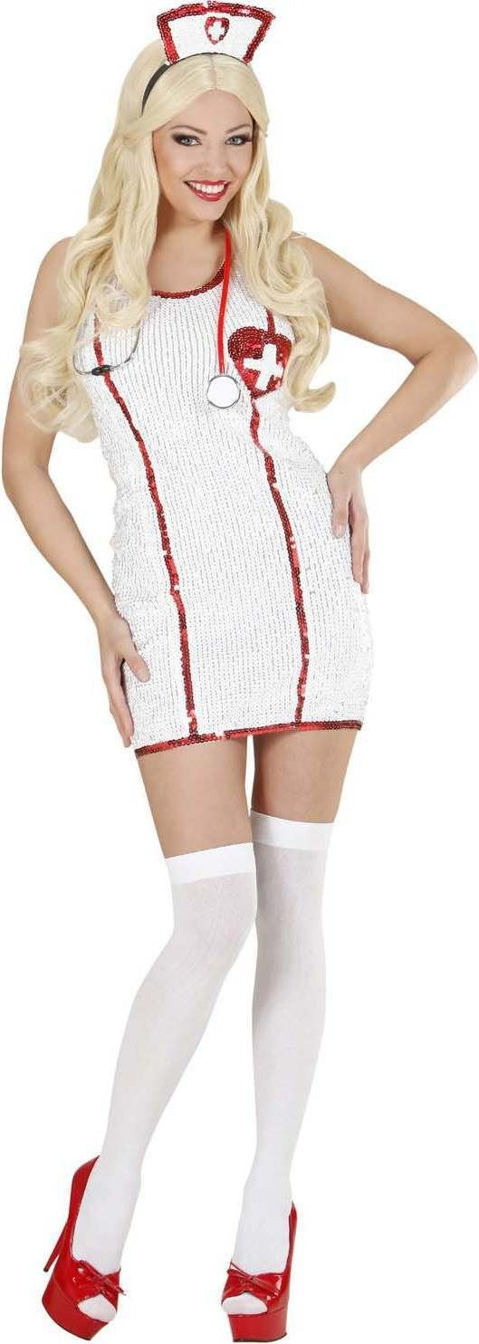 Ladies Nurse- (Dress Hat) Doctors/Nurses Outfit - (White)