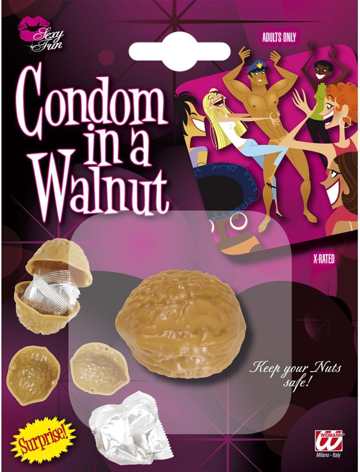 Condoms In A Walnut Other