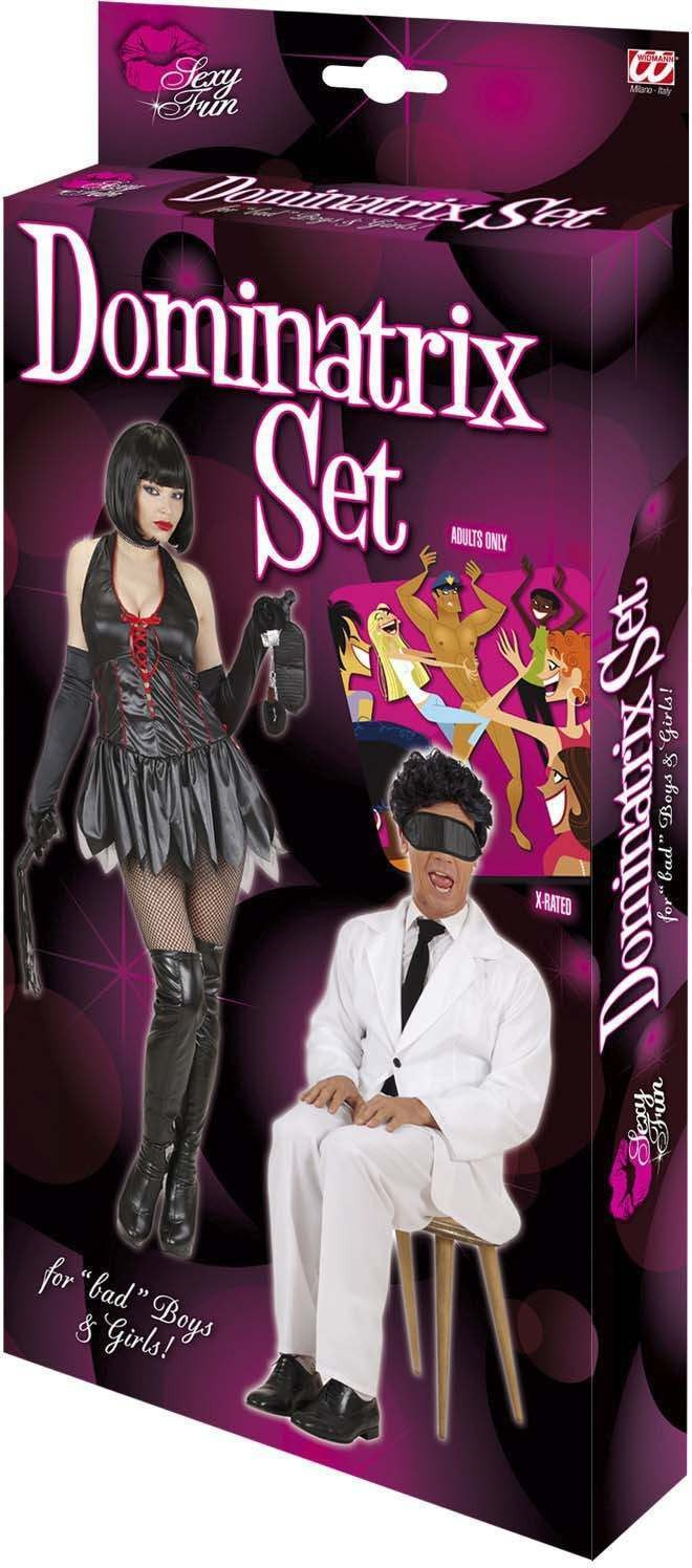 Dominatrix Sets (Handcuffs Blindfold Whip) Other