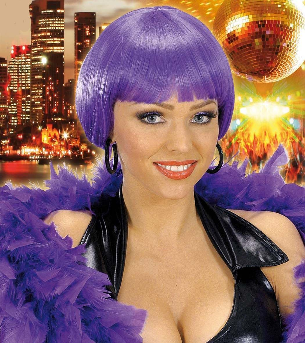 Valentina Wig - Dark Purple - Fancy Dress Ladies