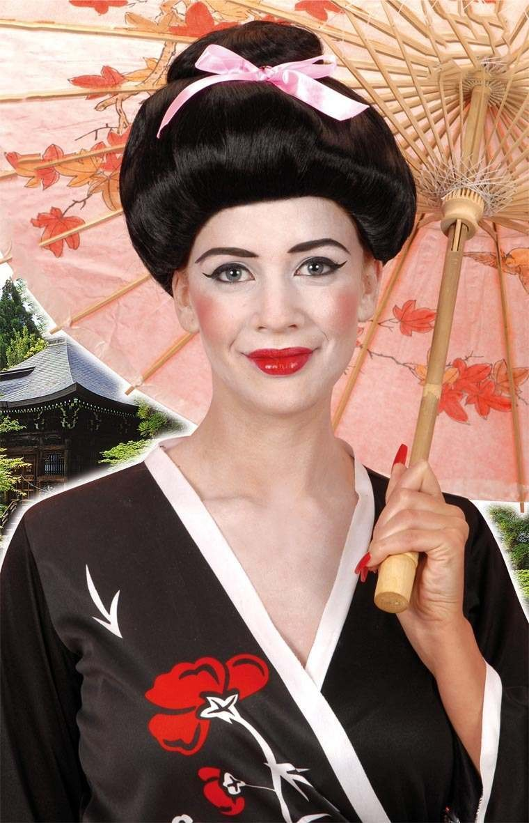 Geisha Wig - Fancy Dress