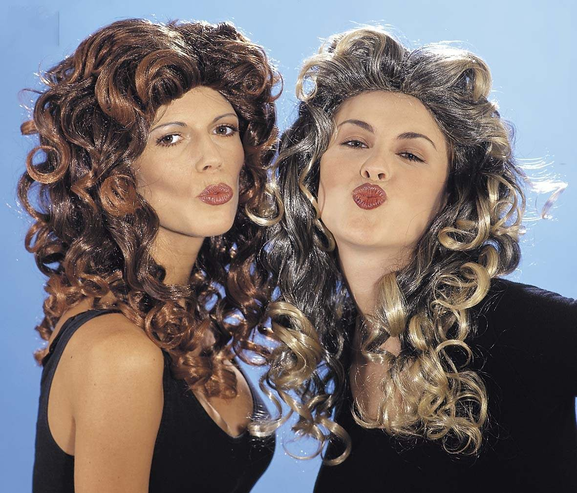 Spicy Wig In Box Blonde Or Brown - Fancy Dress