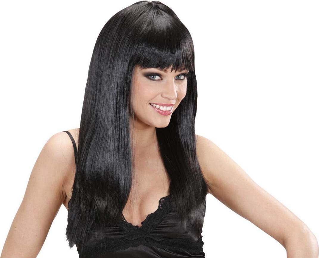 Ladies Beautiful Wig - Black Wigs - (Black)