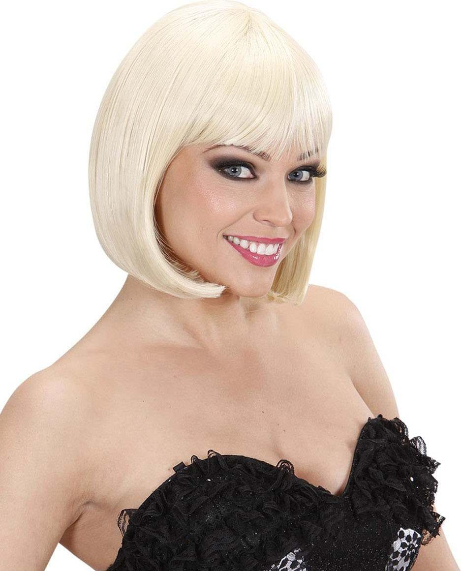 Ladies Jolie Pageboy Wigs - Blonde (Dream Hair) Wigs - (Blond)