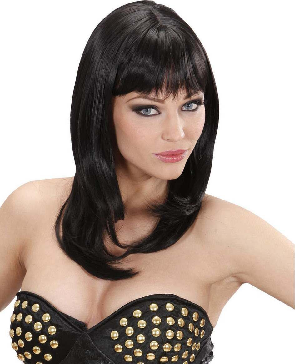 Ladies Ashley Wigs - Black (Dream Hair) Wigs - (Black)