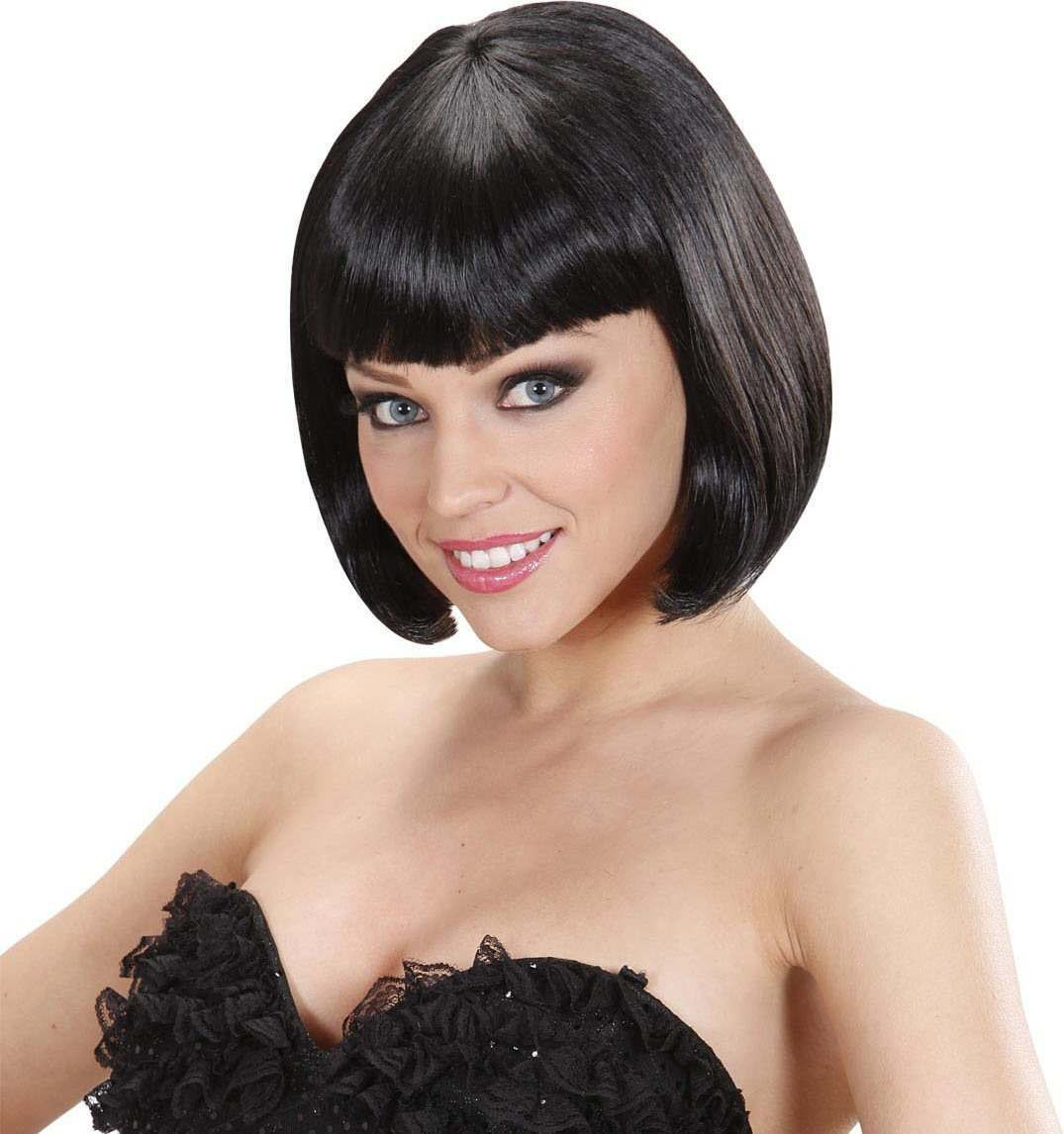 Ladies Lovely Wig - Black Wigs - (Black)