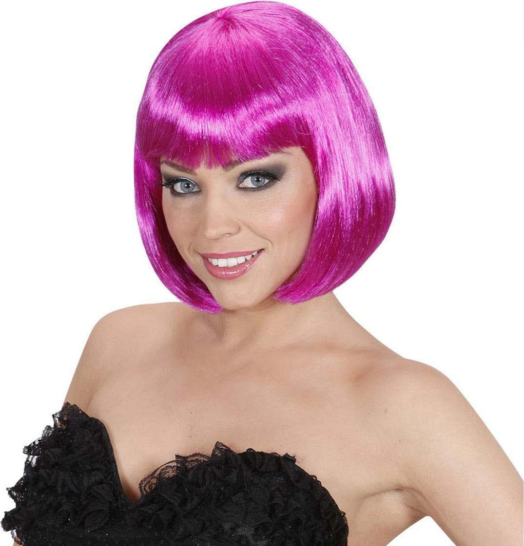 Ladies Lovely Wig - Purple Wigs - (Purple)
