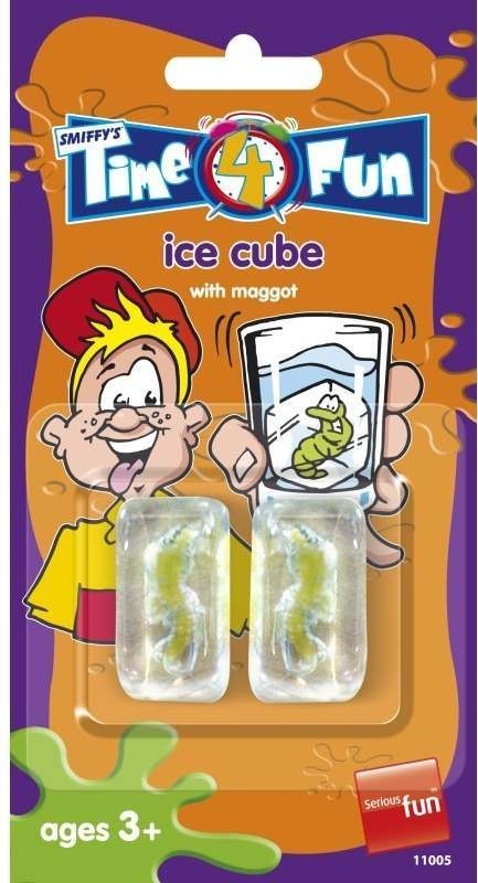 Child Unisex Ice Cube With Maggot Tricks