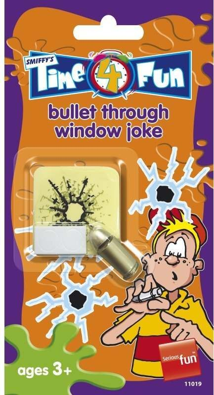 Bullet Through Window Joke Tricks