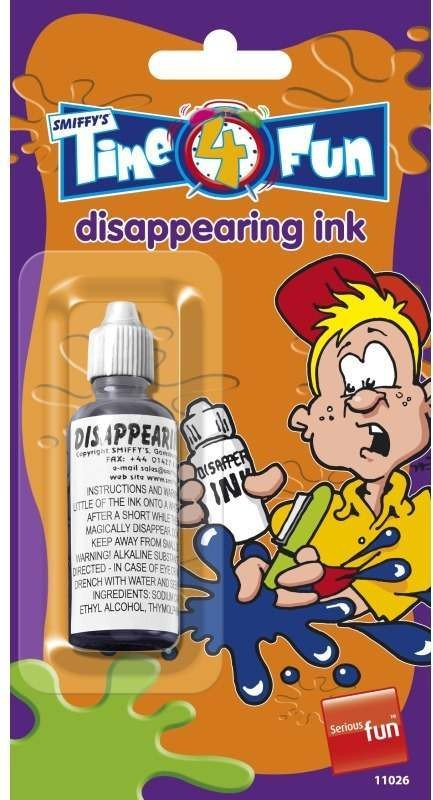 Disappearing Ink Tricks