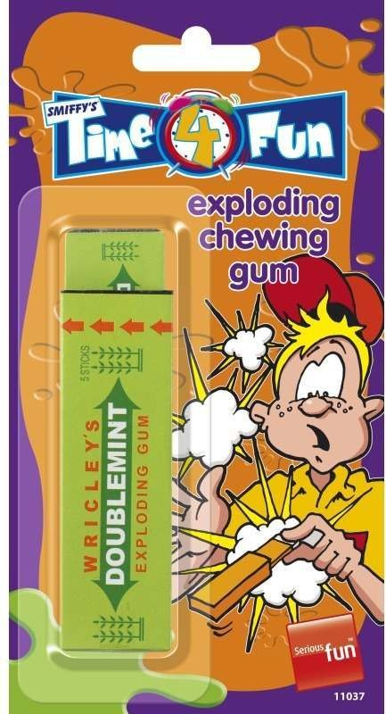Chewing Gum, Exploding Tricks