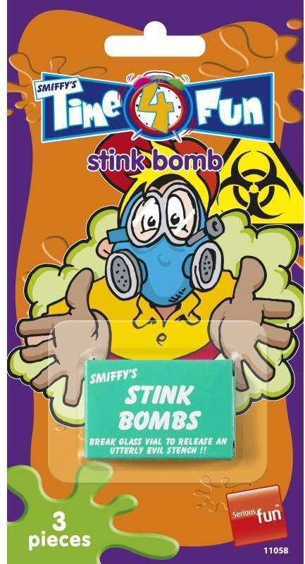Stink Bombs, Time 4 Fun Tricks