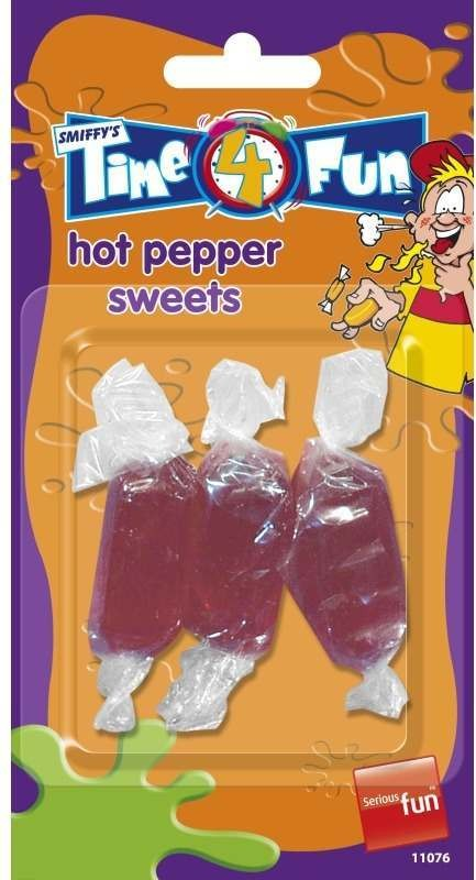 Hot Pepper Sweets, Time 4 Fun Tricks
