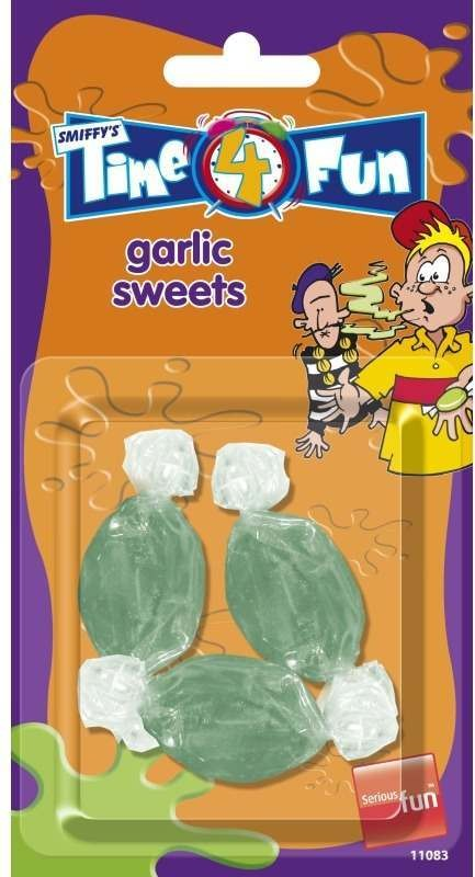 Garlic Sweets, Time 4 Fun Tricks