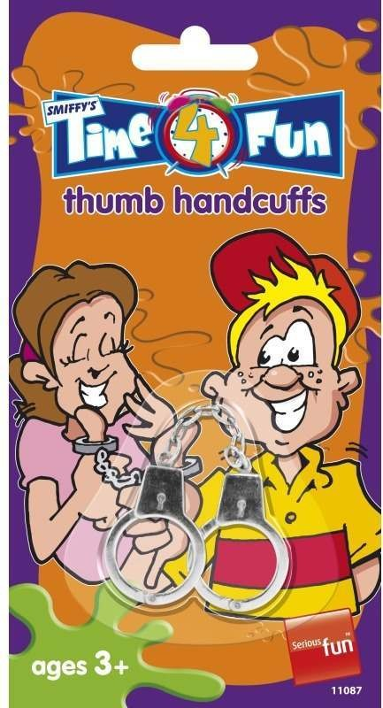 Thumb Handcuffs, Time 4 Fun Tricks