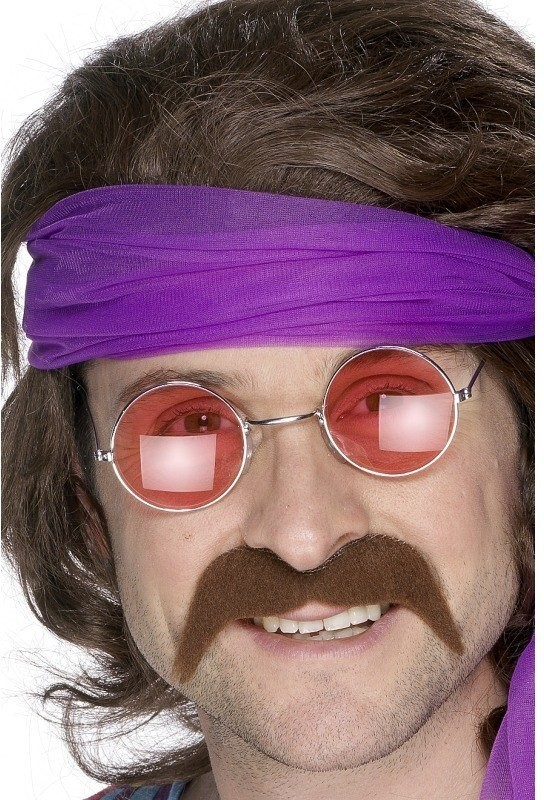 Seventies Tash - Fancy Dress Mens