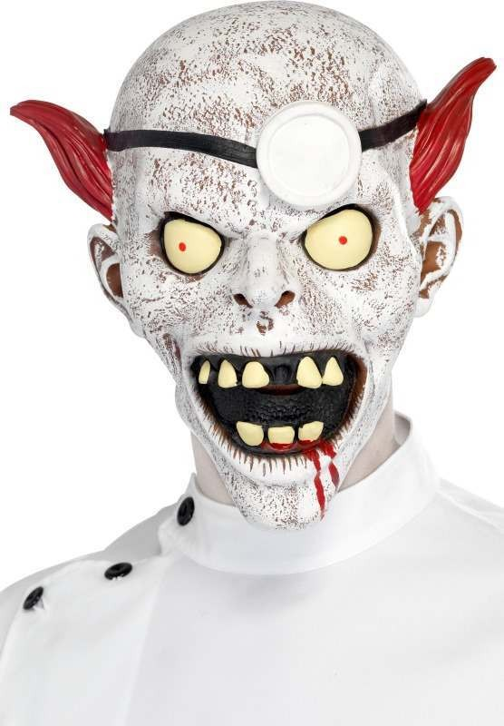 Mens Mad Surgeon Full Overhead Mask Halloween Masks