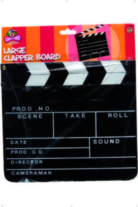 Clapper Board - Fancy Dress