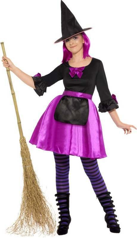 Lolita Witch Fancy Dress Costume Age 13+ Girls (Halloween)