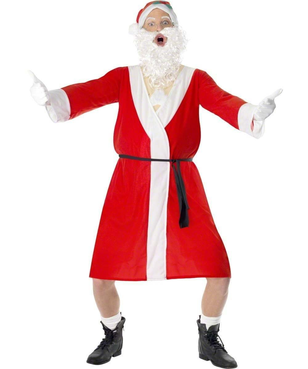 Mens Sleazy Santa Costume Christmas Outfit
