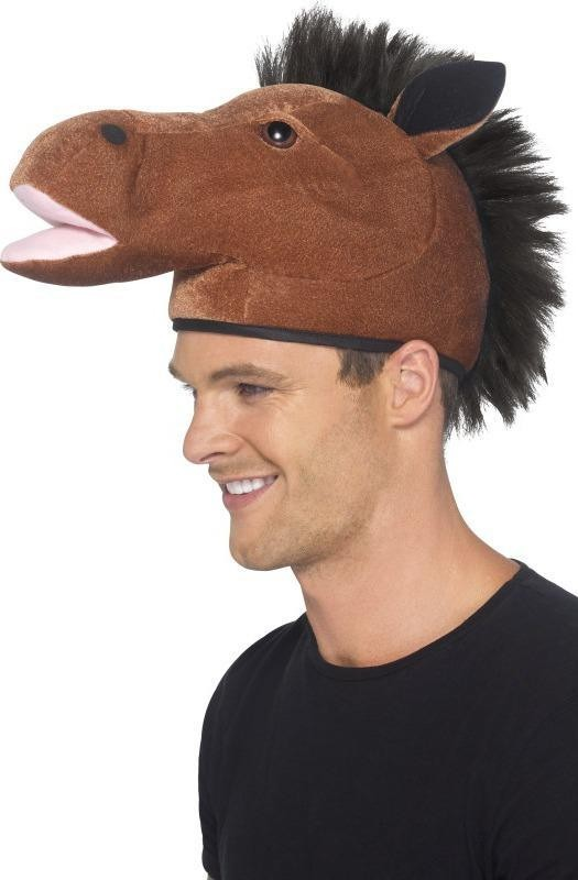 Mens Horse Hat Hats - (Brown)