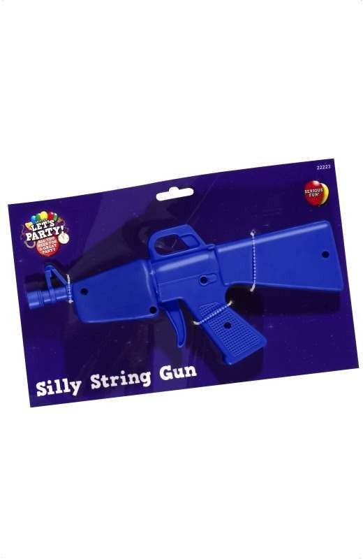 Gun For Shooting Silly String - Fancy Dress