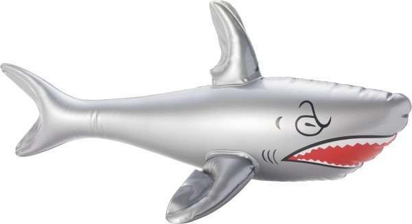 Inflatable Shark Inflatables - (Grey)