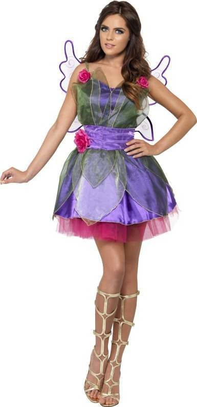 Ladies Fever Fairy Costume Fairy Tales Outfit