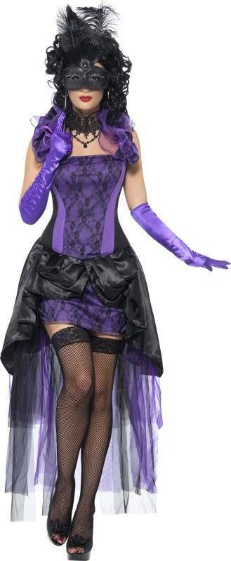 Ladies Countess Chateau Costume Halloween Outfit