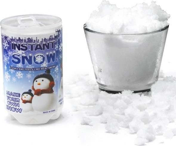Instant Snow Powder (Christmas Fancy Dress)
