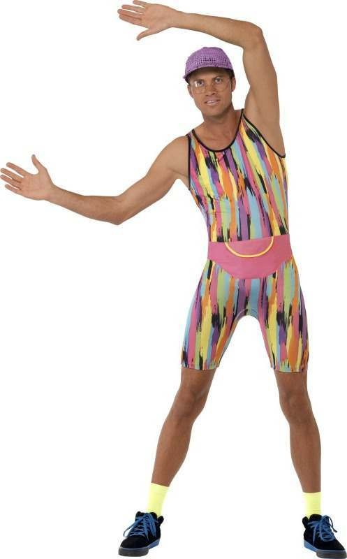 Mens Mr Energizer Costume Tv Outfit (Multicolour)