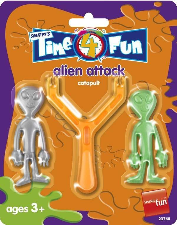 Alien Attack Set Toys - (Multicolour)