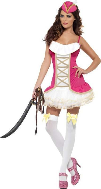 Ladies Fever Pirate Perfection Costume Pirates Outfit