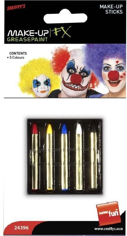 Make-Up Sticks In 5 Colours - Fancy Dress Ladies