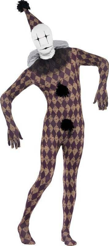 Mens Twisted Harleskin Second Skin Costume Halloween Outfit