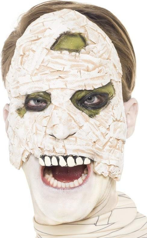 Mens Living Dead Zombie Mummy Halloween Masks