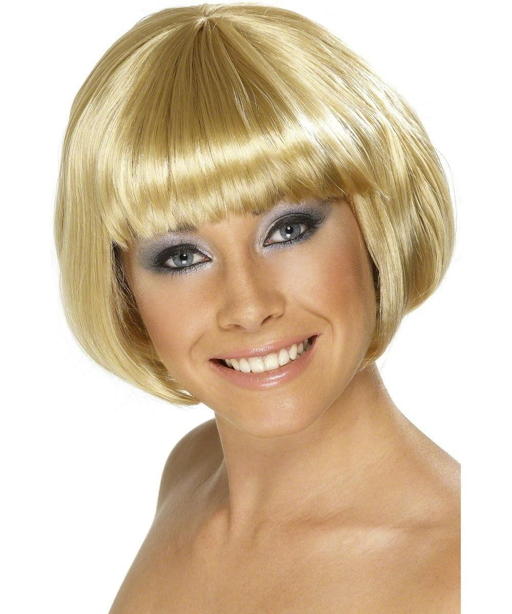 Ladies Babe Wig Wigs - (Blonde)