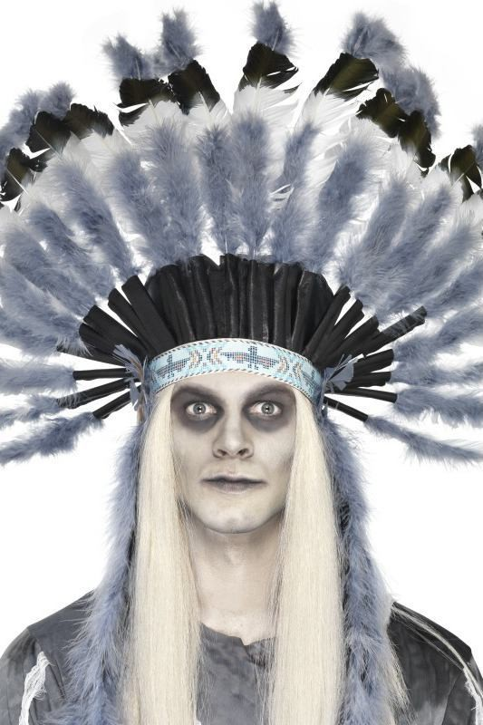 Adult Unisex Ghost Town Native American Headdress Halloween Other