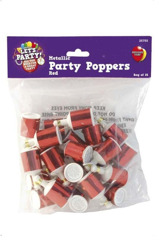 Party Poppers Fancy Dress